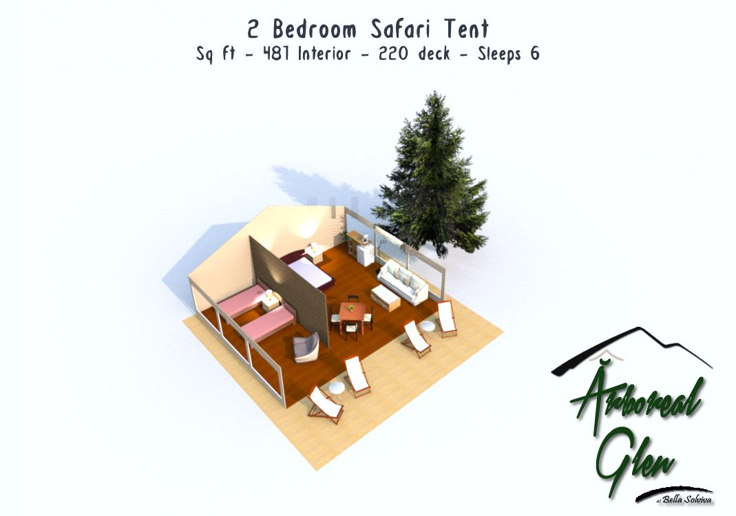 ?rboreal Glen Safari Tent Floor Plans  sc 1 st  Bella Solviva & Bella Solviva - Michiganu0027s Comfy Glamping u0026 Camping Eco-Resort ...